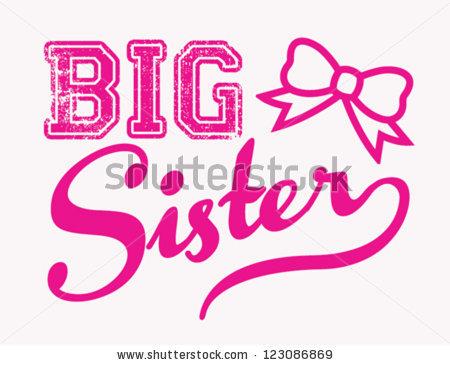 Big Sister Stock Photos, Royalty.