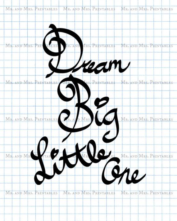 Dream Big Clipart.
