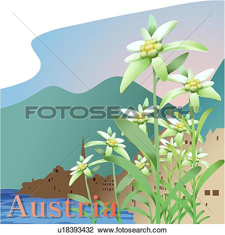Clipart of Austria u18393432.