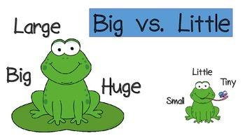 Big vs. Little.