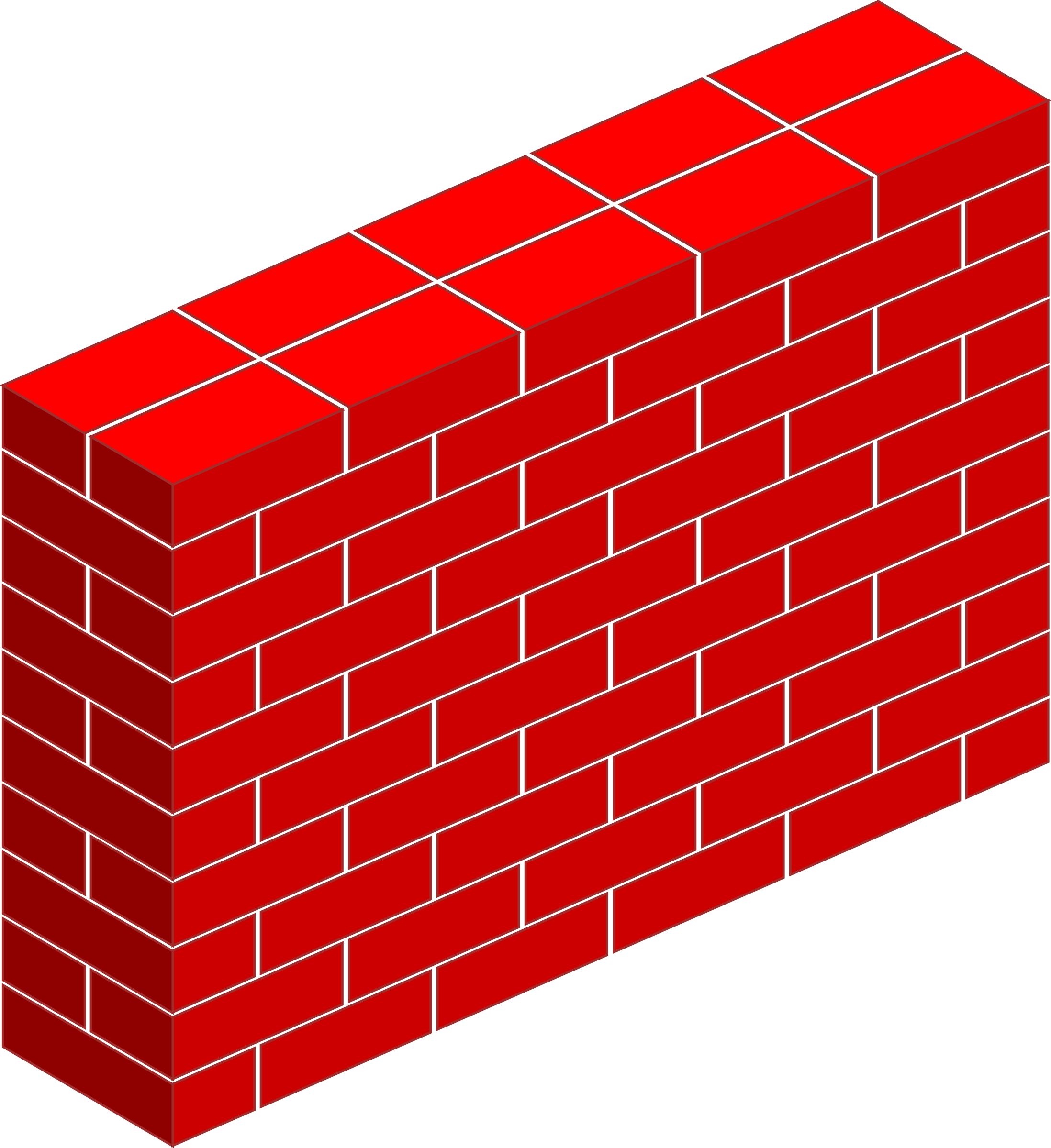 The walls of the clipart #1