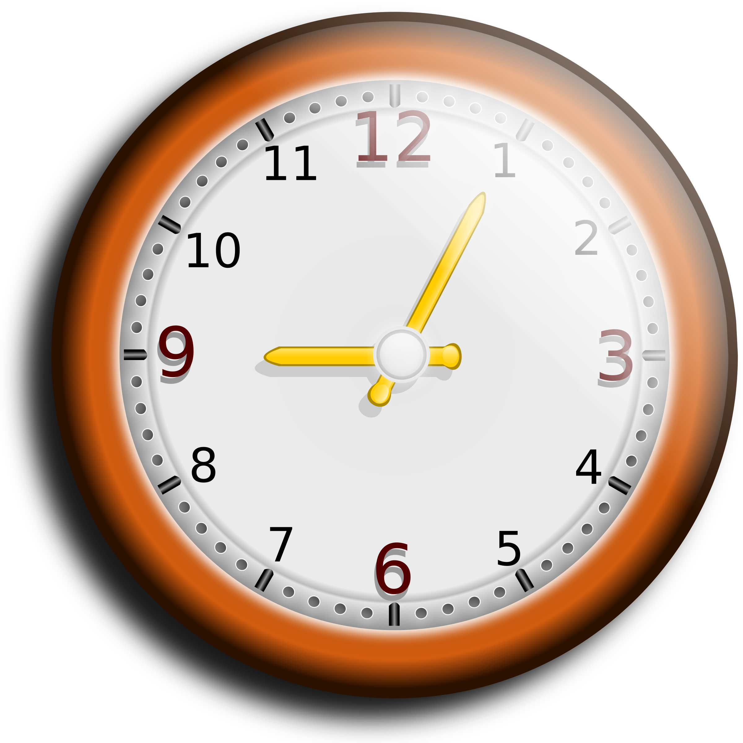 Clock clipart for walls.