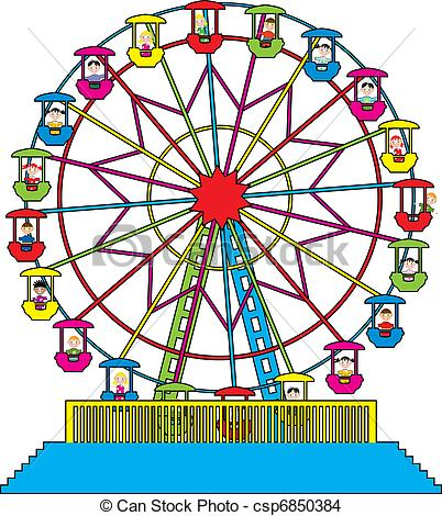Ferris wheel Illustrations and Clip Art. 3,372 Ferris wheel.
