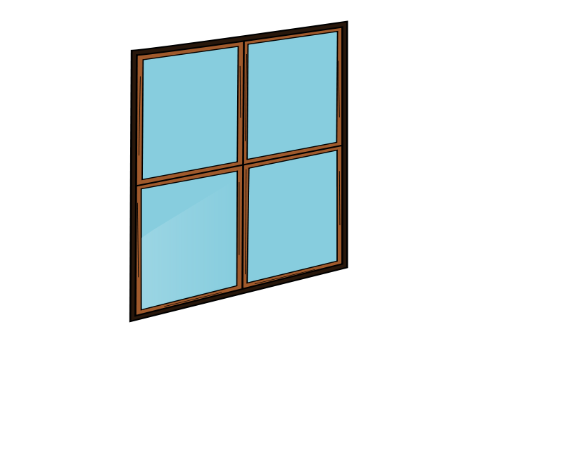 Window Cartoon.