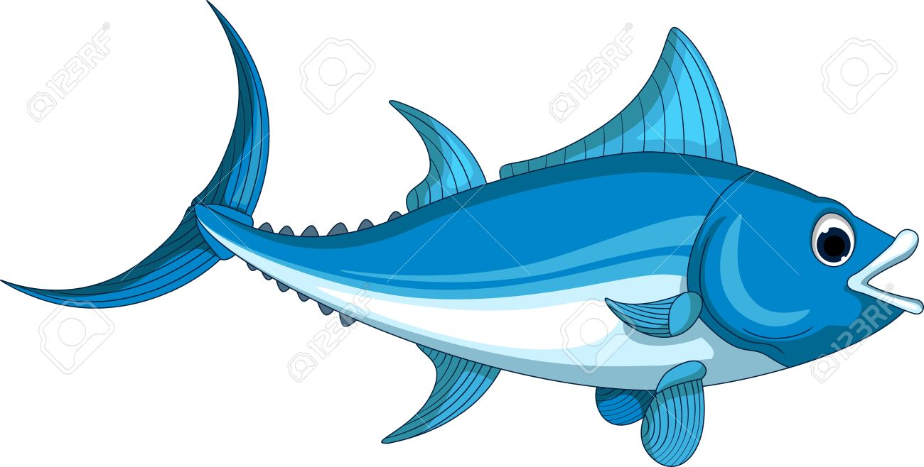 Tuna Cartoon For You Design Royalty Free Cliparts, Vectors, And.