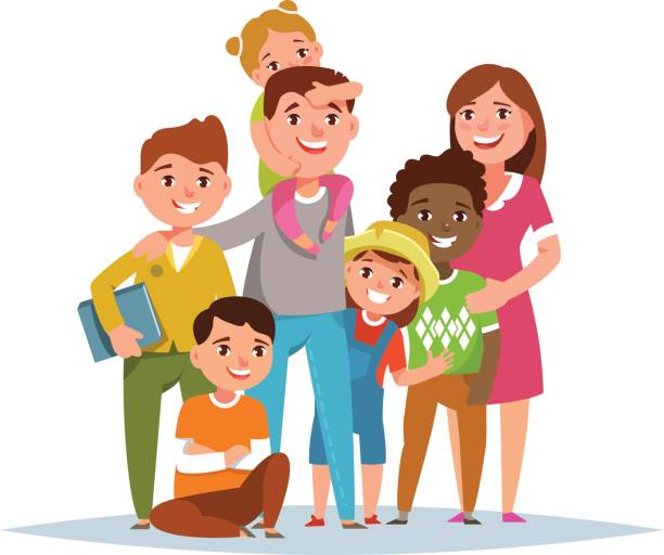 Big family clipart 3 » Clipart Station.