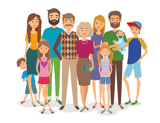 Big family clipart 1 » Clipart Station.