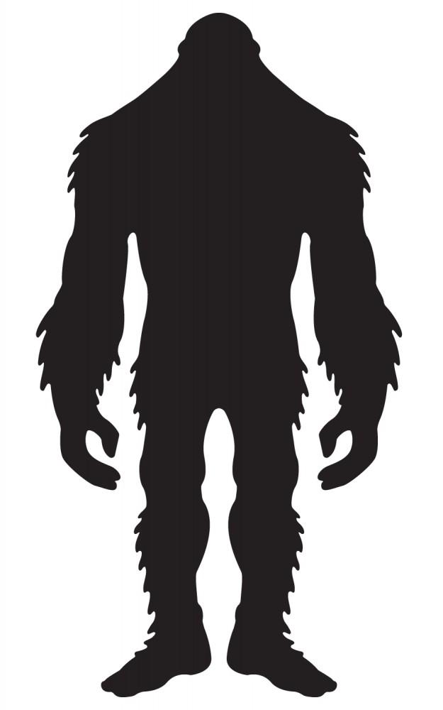 Bigfoot Silhouette at GetDrawings.com.