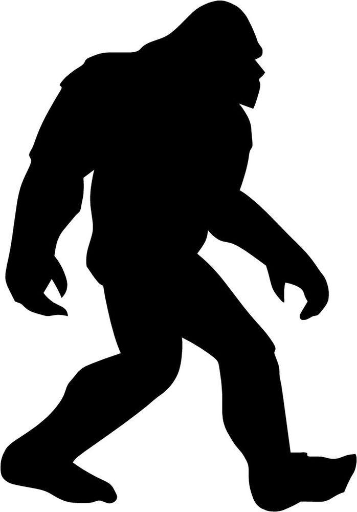 187 Bigfoot free clipart.