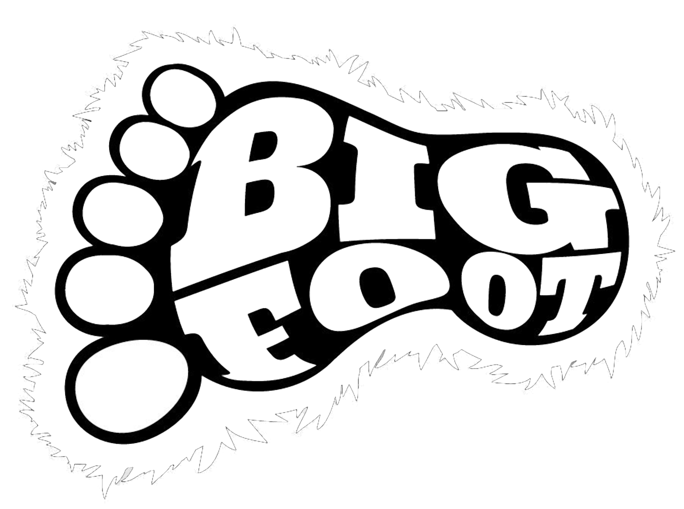 Bigfoot Clipart.