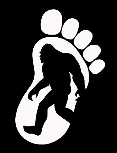 Amazon.com: Makarios LLC Footprint Bigfoot Cars Trucks Vans Walls.