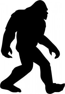 Bigfoot clipart public domain, Bigfoot public domain.