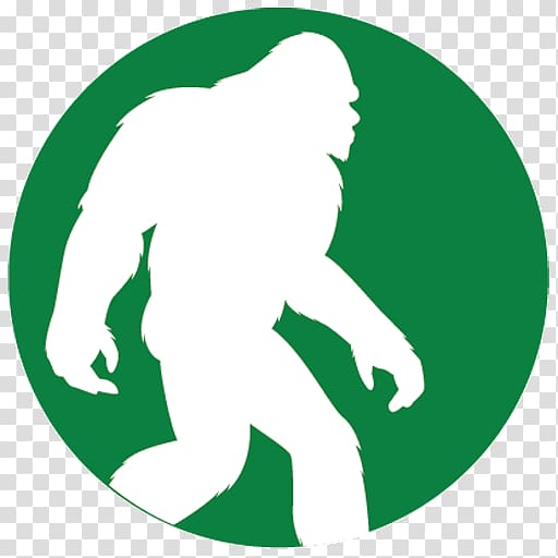Bigfoot Decal Bumper sticker Yeti, others transparent.