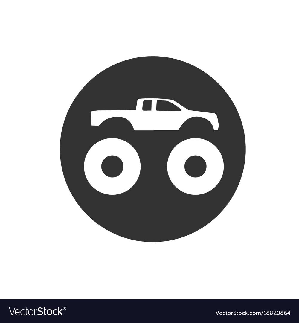 Bigfoot truck logo.