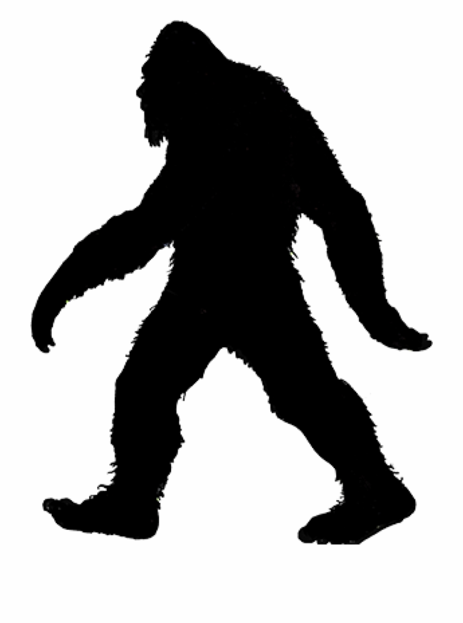 Sasquatch Silhouette Free PNG Images & Clipart Download #3089628.