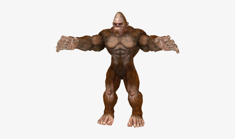 Bigfoot Png Transparent Picture Library Stock.