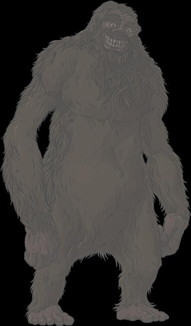 Bigfoot Png Transparent Clip Art Freeuse Download.
