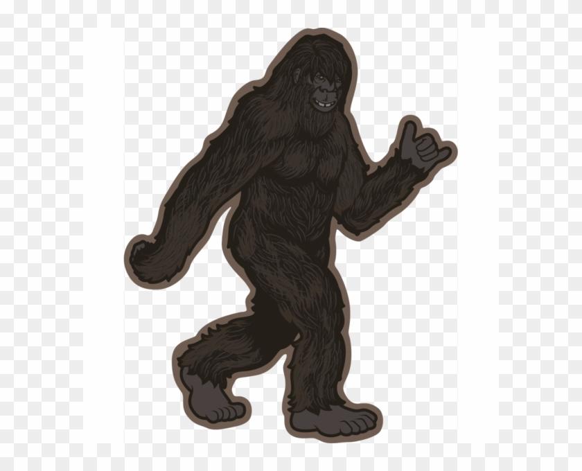 Transparent Background Bigfoot Png, Png Download.