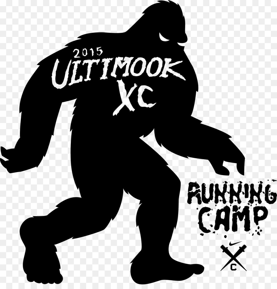 Bigfoot Silhouette Clip art.