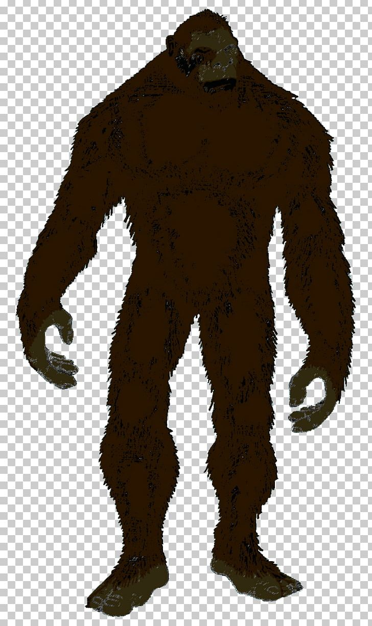 Bigfoot Silhouette Yeti PNG, Clipart, Animals, Art, Bigfoot.