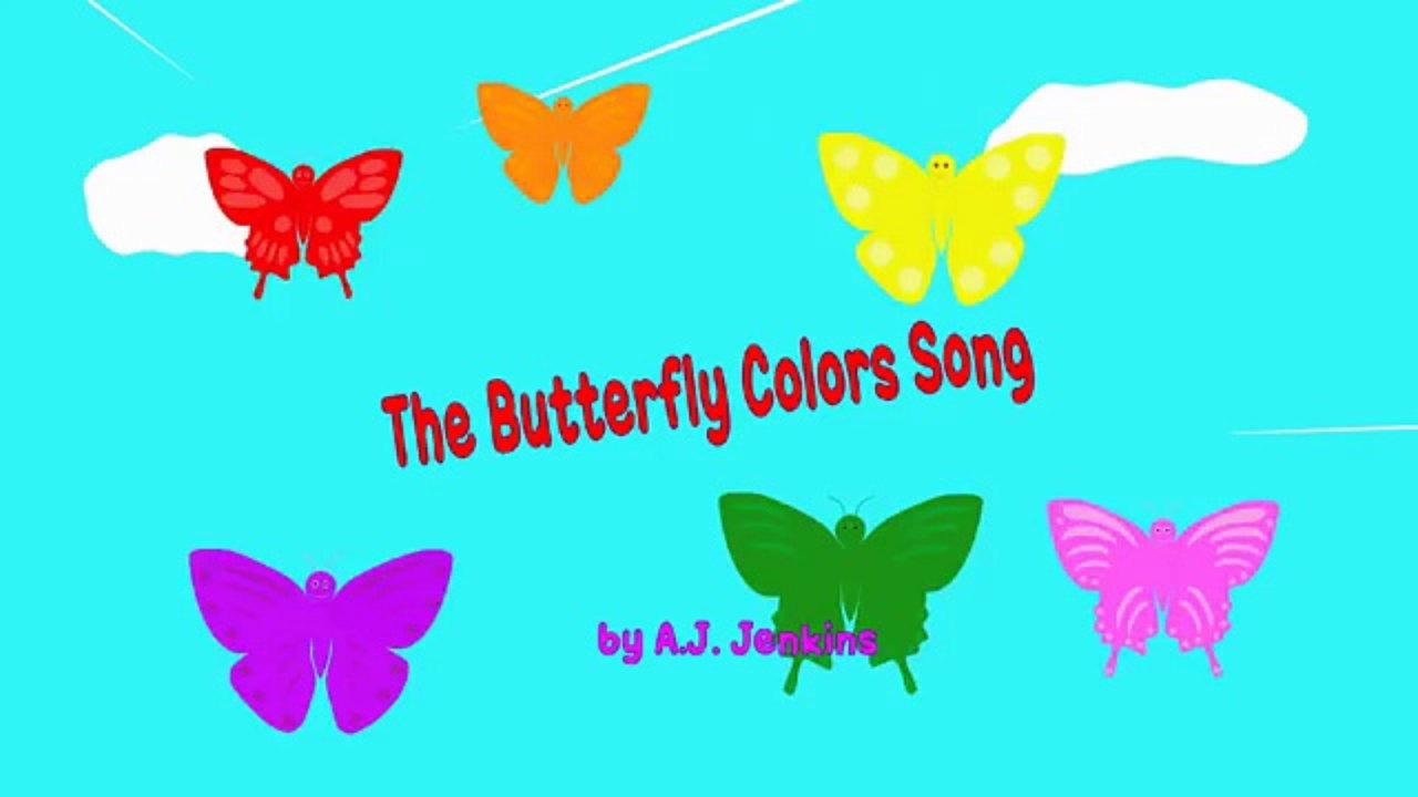 The Butterfly Colors Song (HD).