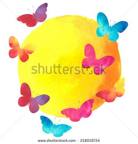 Colourful Butterfly Stock Photos, Royalty.
