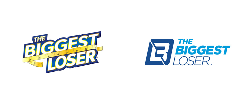 Brand New: New Logo for The Biggest Loser.