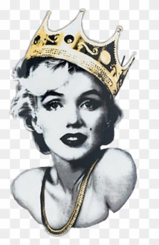Scqueen Queen Crown Marilynmonroe Marilyn Monroe Marily.