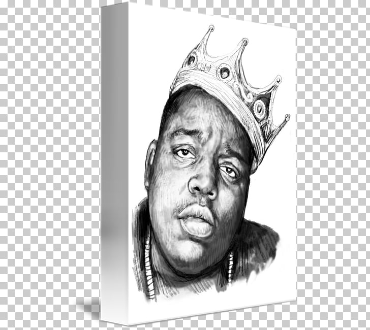 Biggie & Tupac Drawing Caricature Art Sketch, biggie smalls.