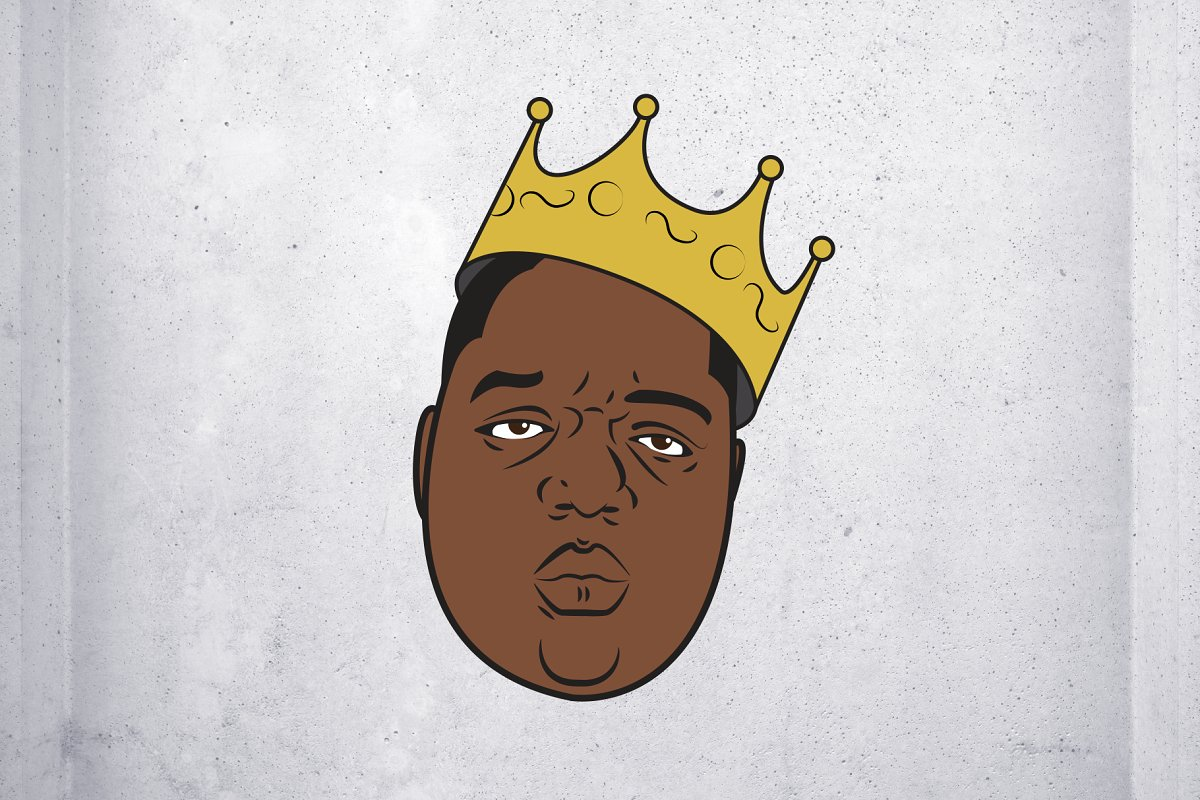 Biggie Smalls Vector Illustration.