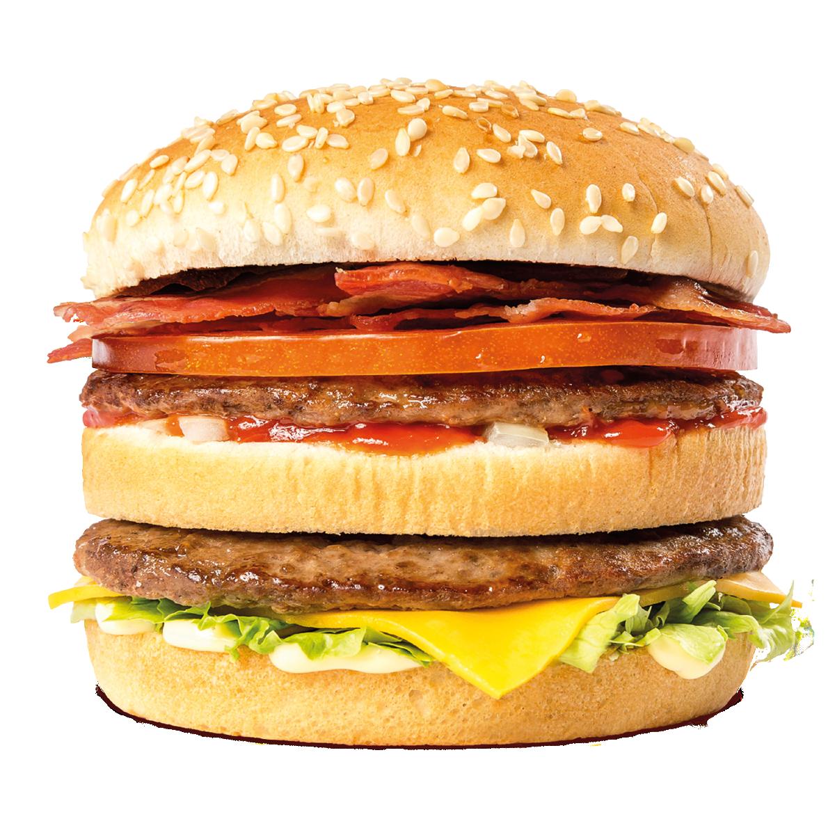 Hamburger Cheeseburger Whopper McDonald\'s Big Mac Bacon.