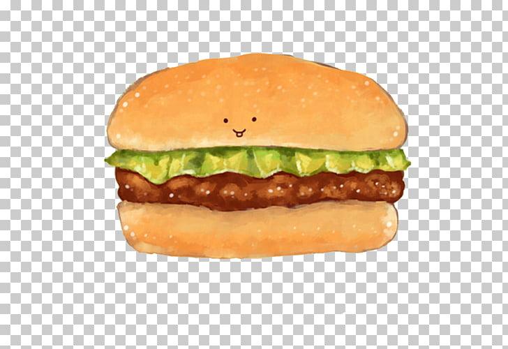 Hamburger Cattle McDonalds Big Mac Beef Lettuce, Beef burger.