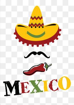 Sombrero Mexicano Clipart.
