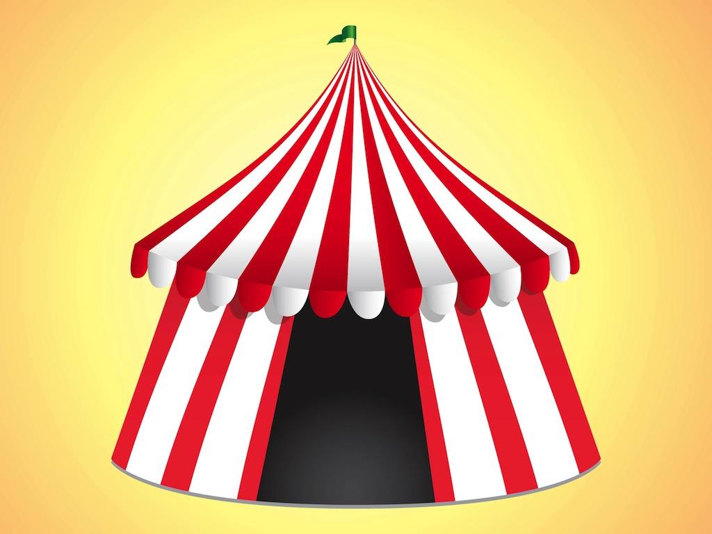 Carnival big top clipart.