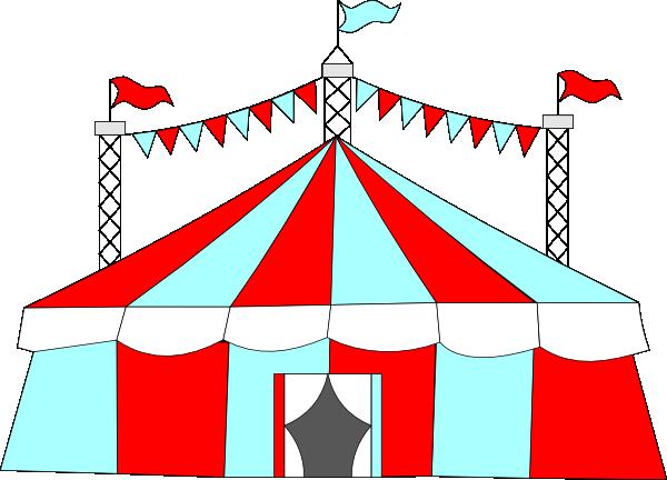 Big top tent clipart.