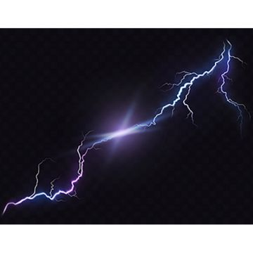 Thunderbolt PNG Images.