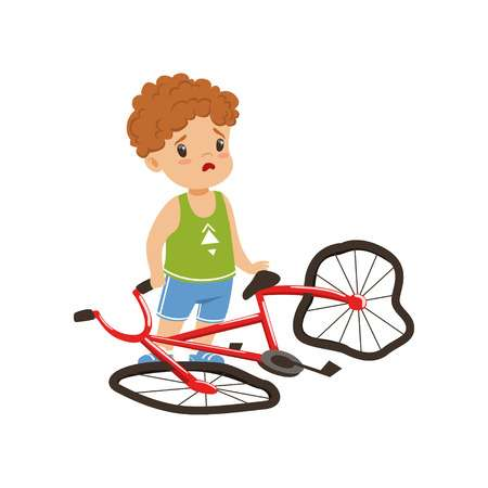 1,125 Bicycle Accident Stock Illustrations, Cliparts And Royalty.