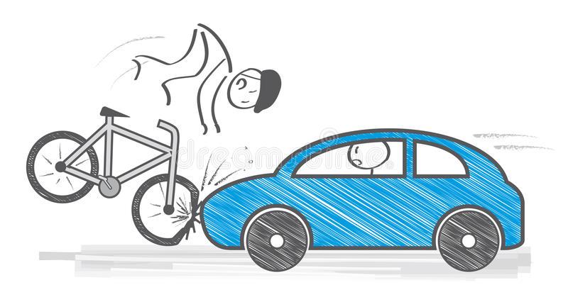 Bike Accident Stock Illustrations.