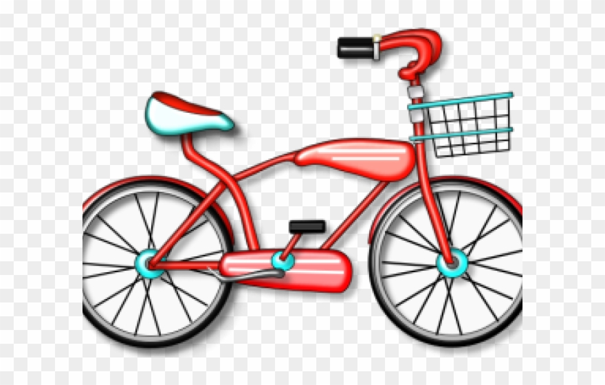 Cycling Clipart Beach Bike.