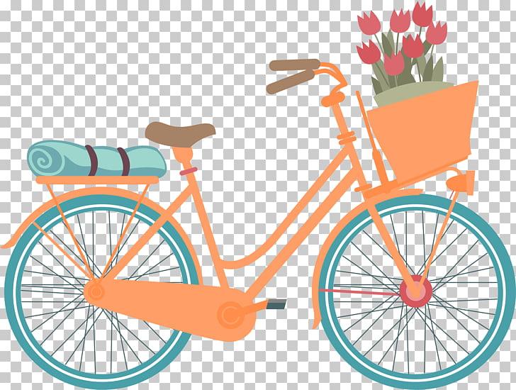 Hybrid bicycle Car Mountain bike Bicycle commuting, vintage.