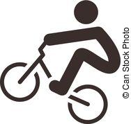 Cycling bmx Vector Clip Art Royalty Free. 360 Cycling bmx clipart.