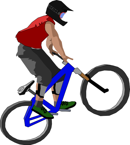Sports Cycling Bmx Clipart.