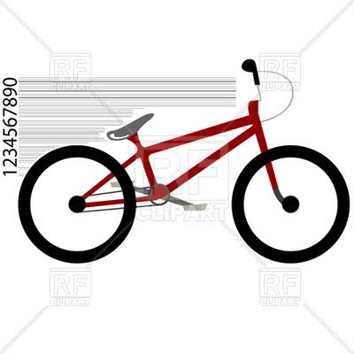 Bicycle BMX Vector Image #2243.