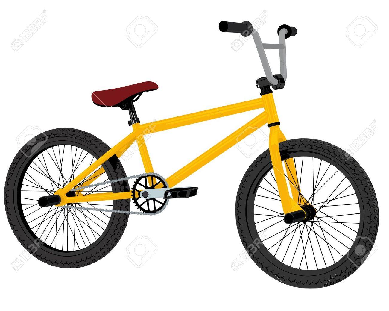 Bmx bike clip art.