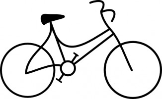 Bike clip art bicycle clipart 2 clipartcow.