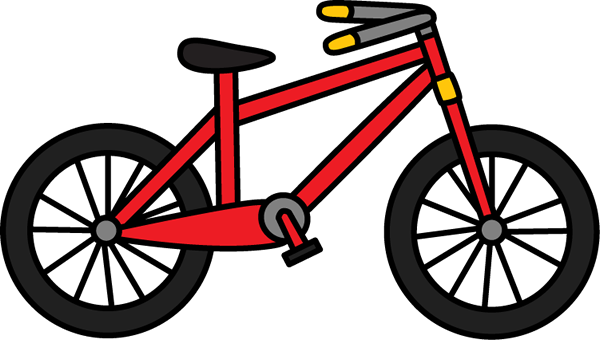 Red Bicycle Clipart.