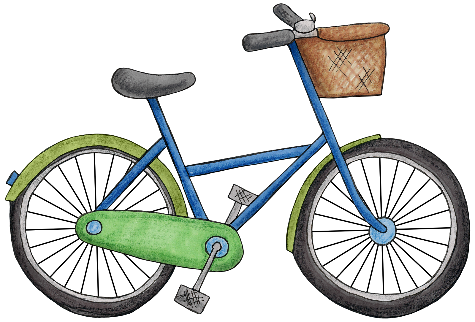 Bicycles, bike Clipart images free download pictures #45181.