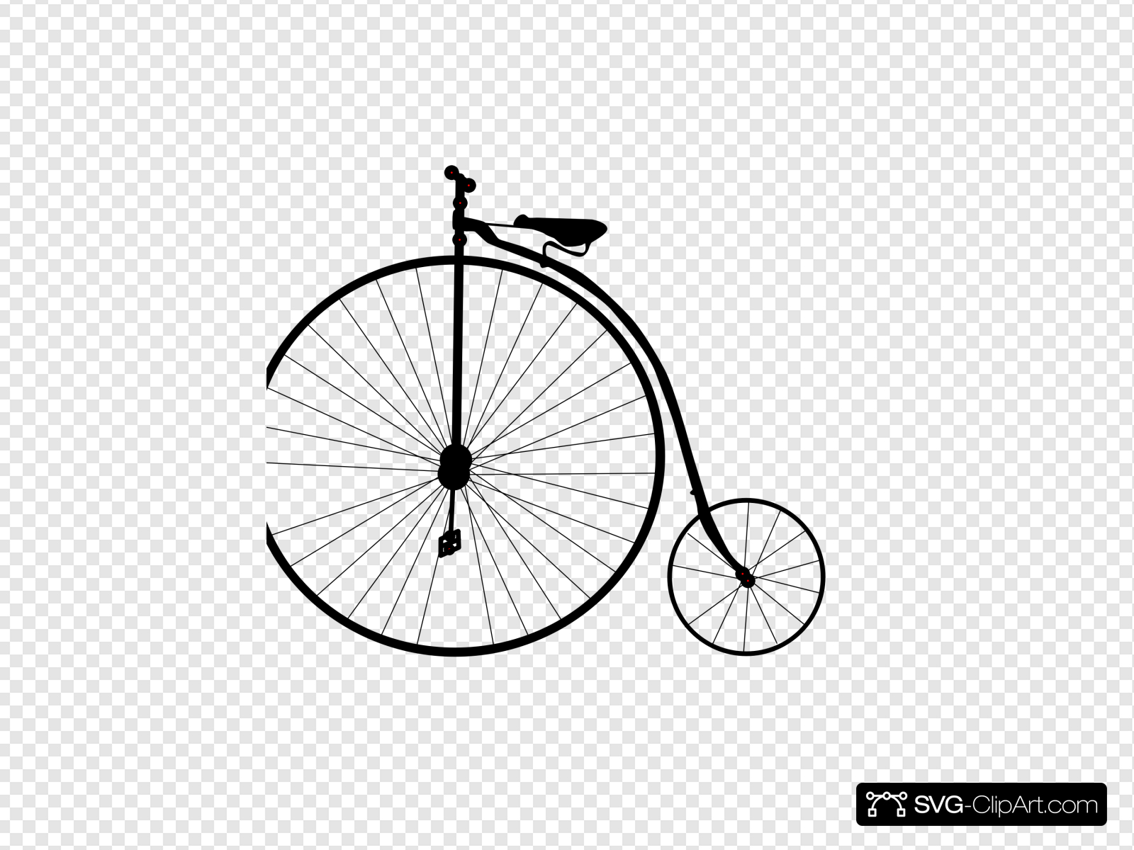 Bike Clip art, Icon and SVG.