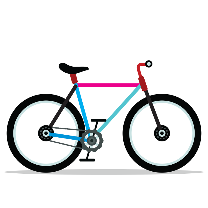 Bicycle Clipart PNG.