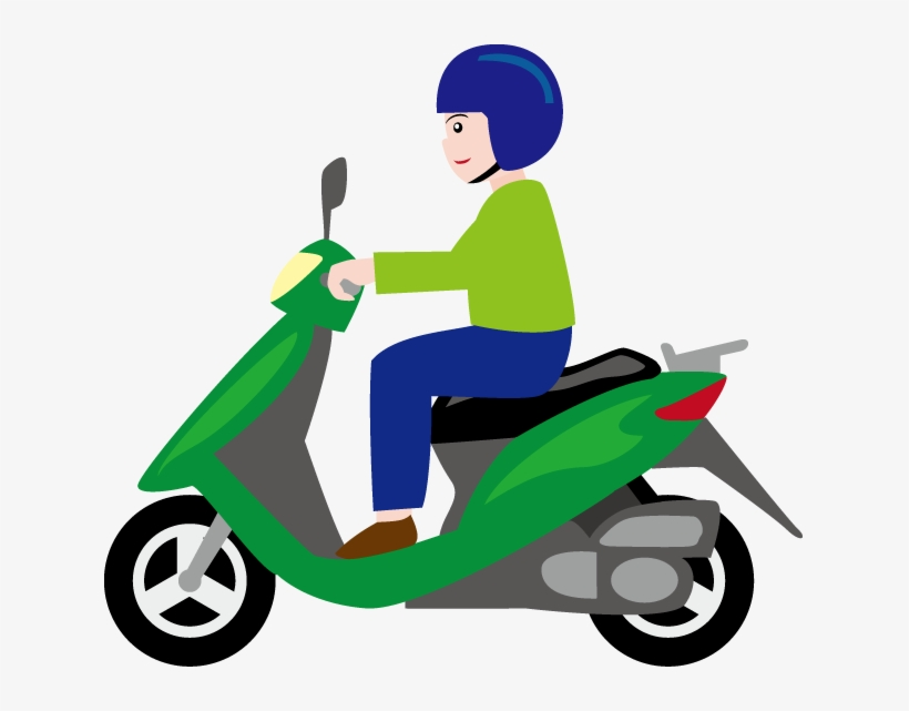 Picture Transparent Download Scooter Clipart Motobike.